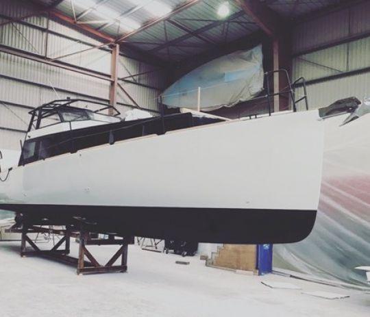 La construction du prototype Silverfin