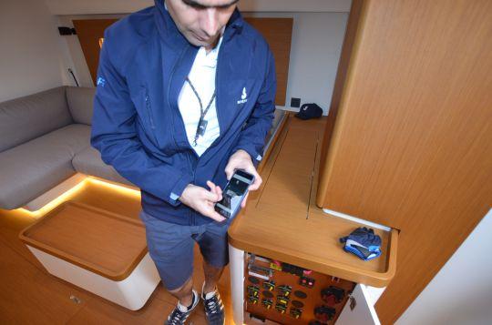 Navigation sur mobile