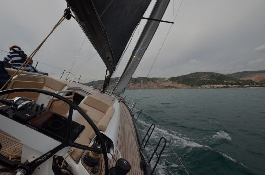 Navigation à bord du First Yacht 53