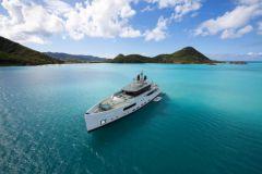 V-Line, die neue Serie von Superyachten von Baglietto Werft