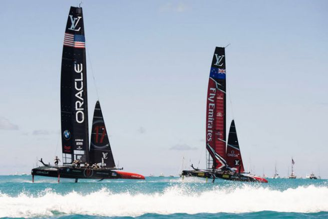 AmericaS Cup Boote