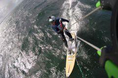 Neue Kitesurf-Herausforderung für den Weltrekordhalter im Handisport Speedsegeln