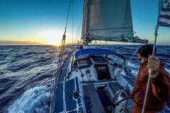 Segelboot Maewan im Solo-Transat